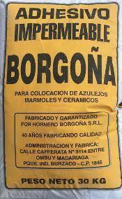 PEGAMENTO HORNERO X 30 KG
