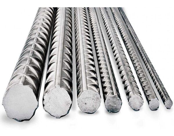 Barra de acero conformada de dureza natural, soldables, para estructuras de hormigón armado